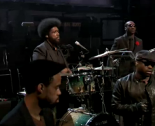"The Roots – ""Tip The Scale/Redford"" & ""The Otherside"" (live on Fallon)"