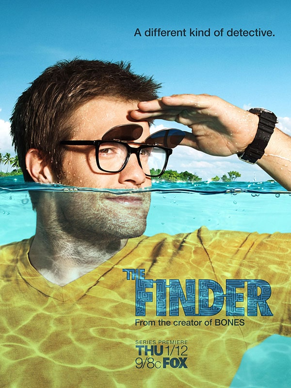 Walter sherman The finder Spin off de Bones srie Michael Clarke Duncan  The finder, allez cherche walter the finder aff