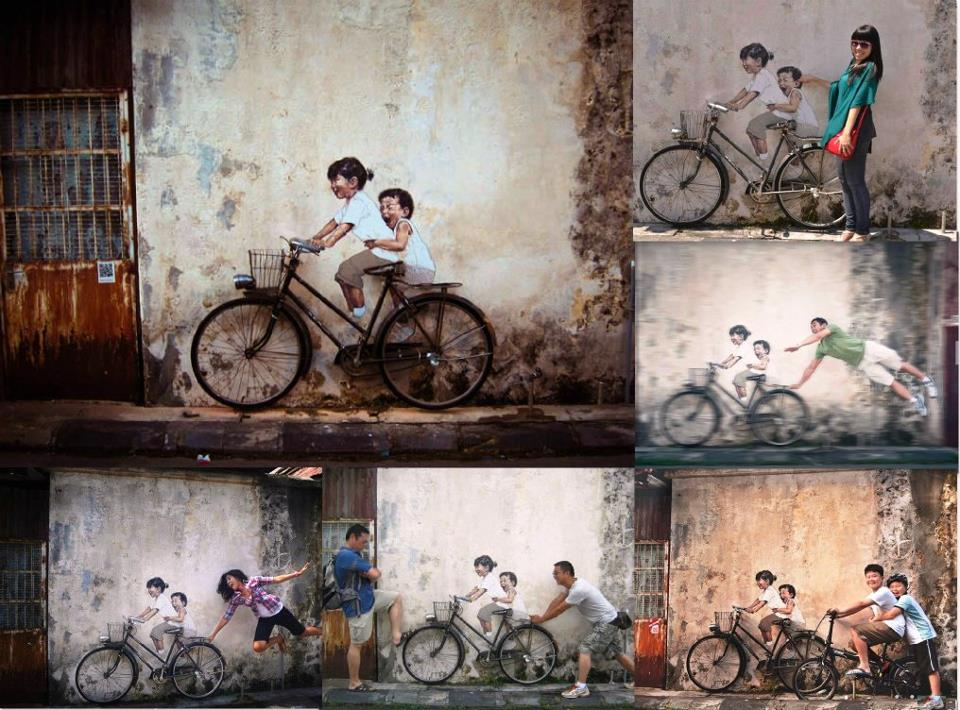 Street art of the week street art kid street art cesar alexander betty boop art art  Street art of the week #12 vélo