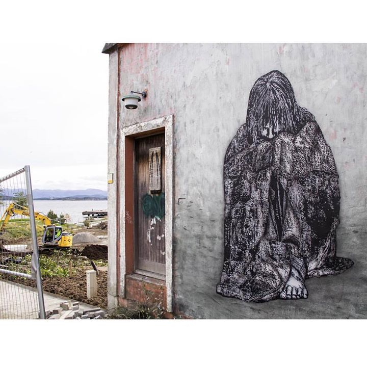 Icy And Sot for NUART FESTIVAL in Stavanger art