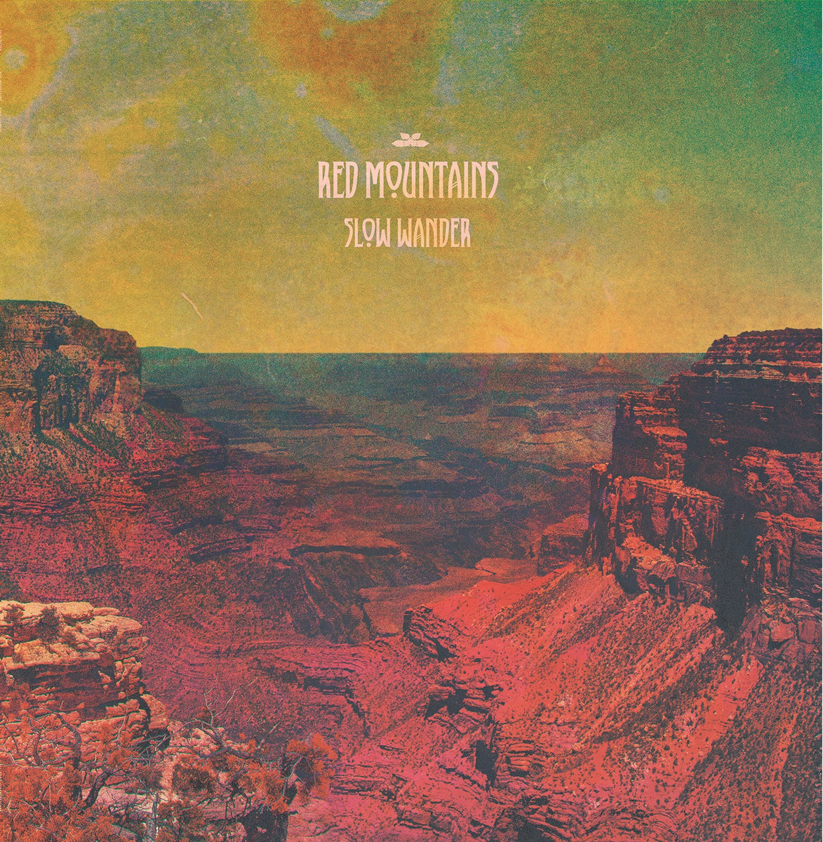 slow wander red mountains