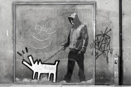 dog-banksy