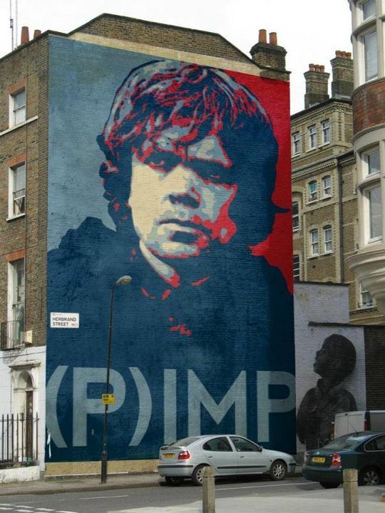 Game of Thrones Street Art