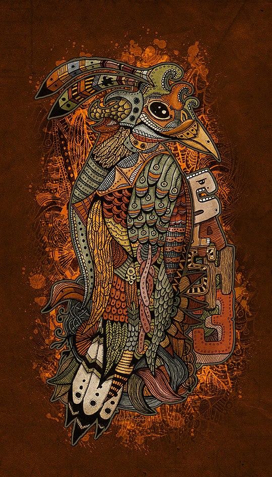 oiseau-azteque-street-art-graff