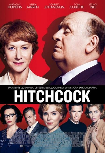 affiche du film hitchcock 2012