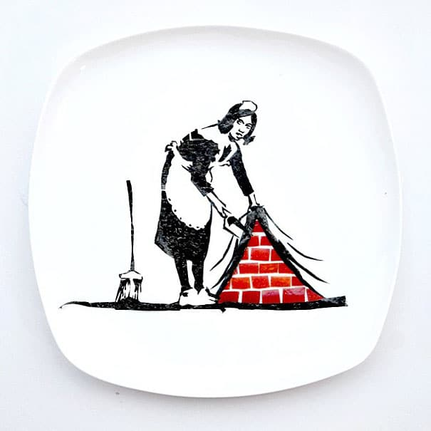 every-day-food-art-project-hong-yi-11banksy