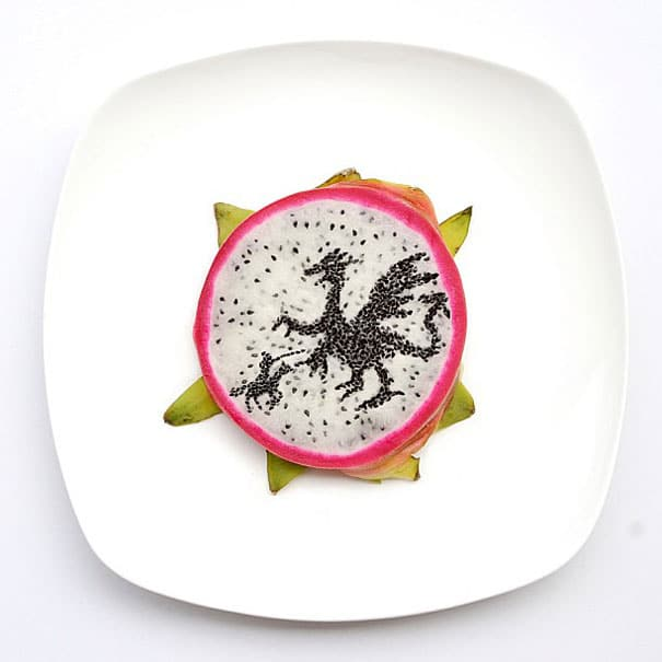 every-day-food-art-project-hong-yi-8dragonfruit