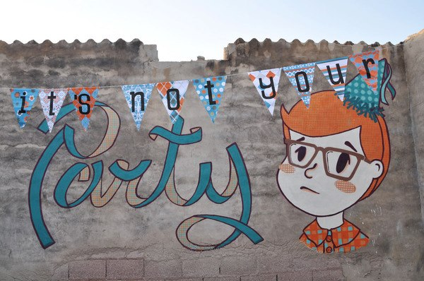 its-not-your-party-street-art