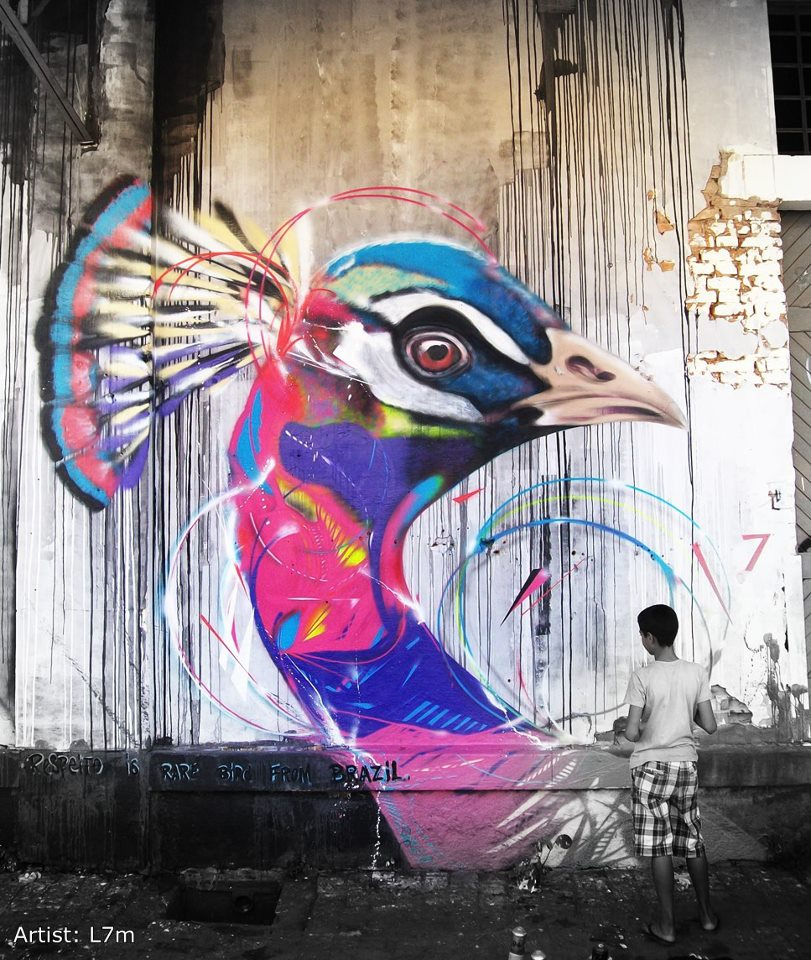-street-art-bird-violet