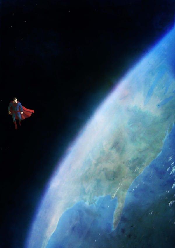 lonely god superman