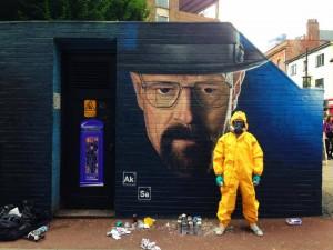 Breaking Bad - Street Art
