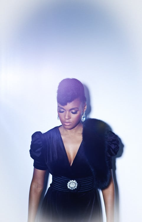 janelle monae in black