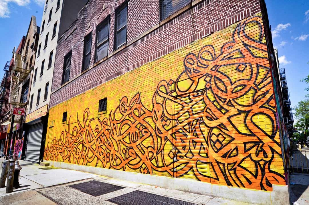 El Seed - NYC wall