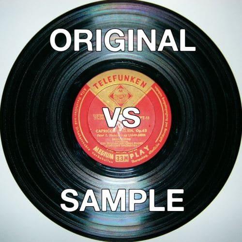 Original Vs Sample