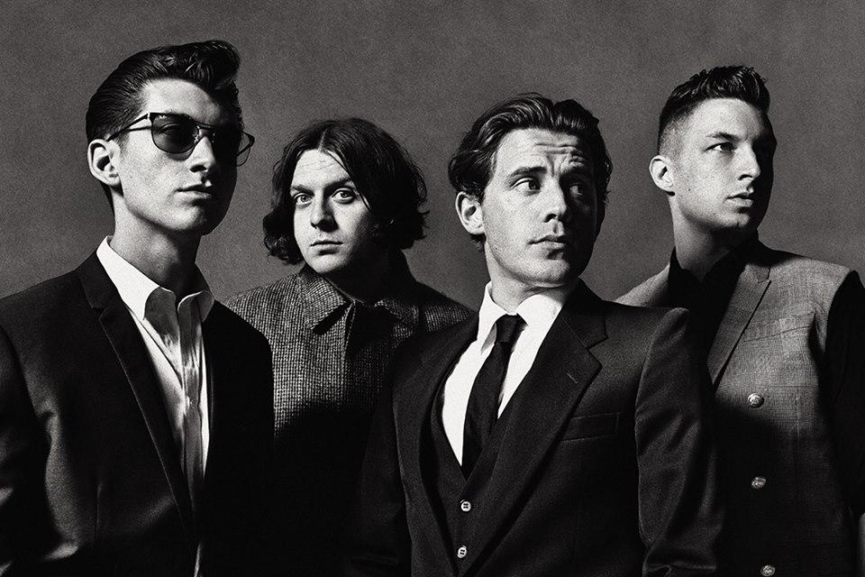 Arctic Monkeys Warp Speed Chic.