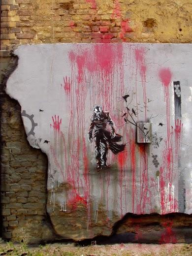 Street art in Berlin (Mitte), Germany, by KEN aka Plotbot-bd-street-art
