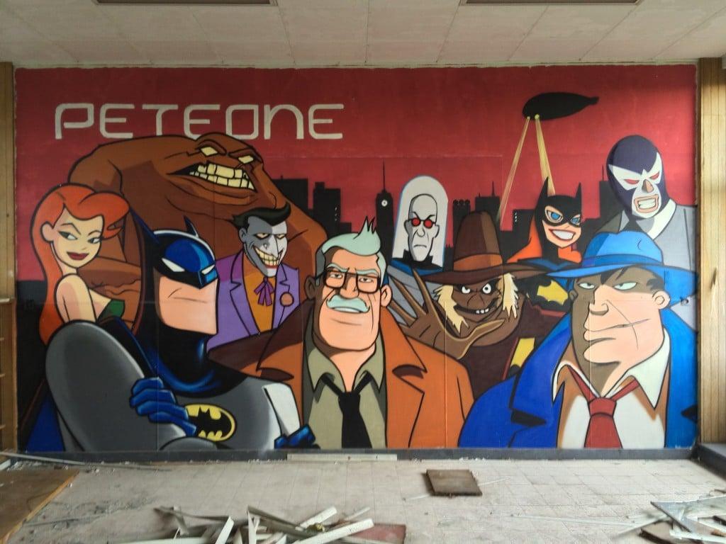 Batman streetart