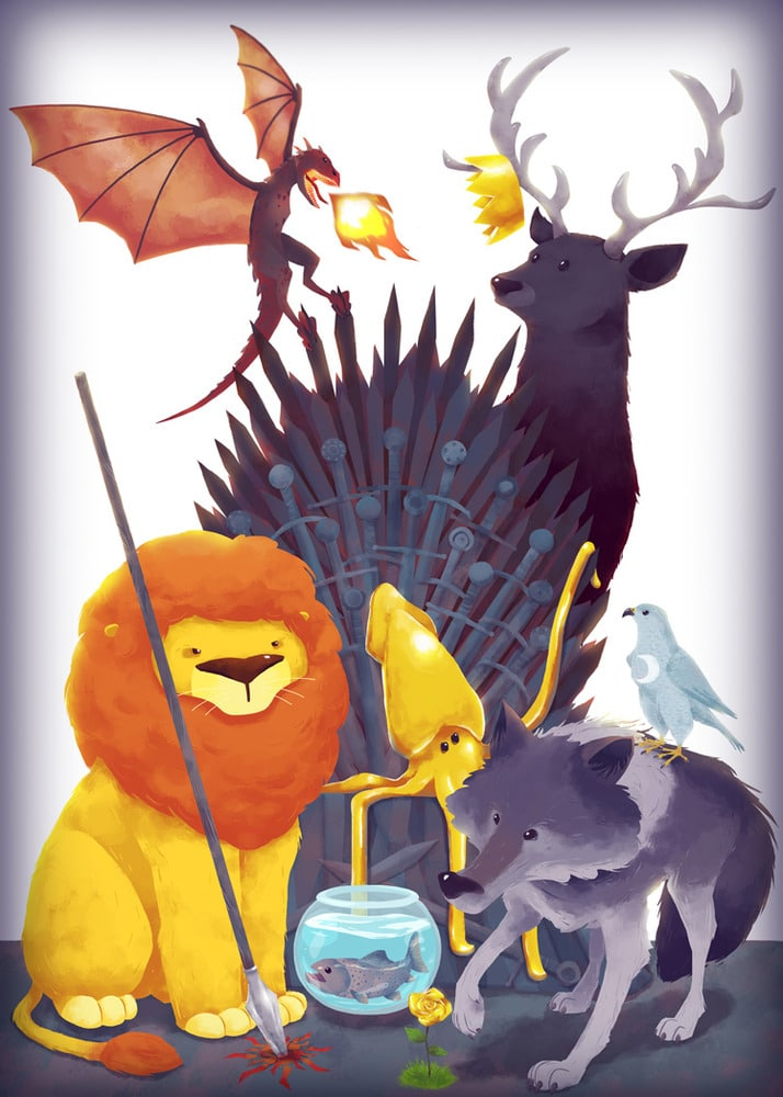 game of thrones 9 Houses