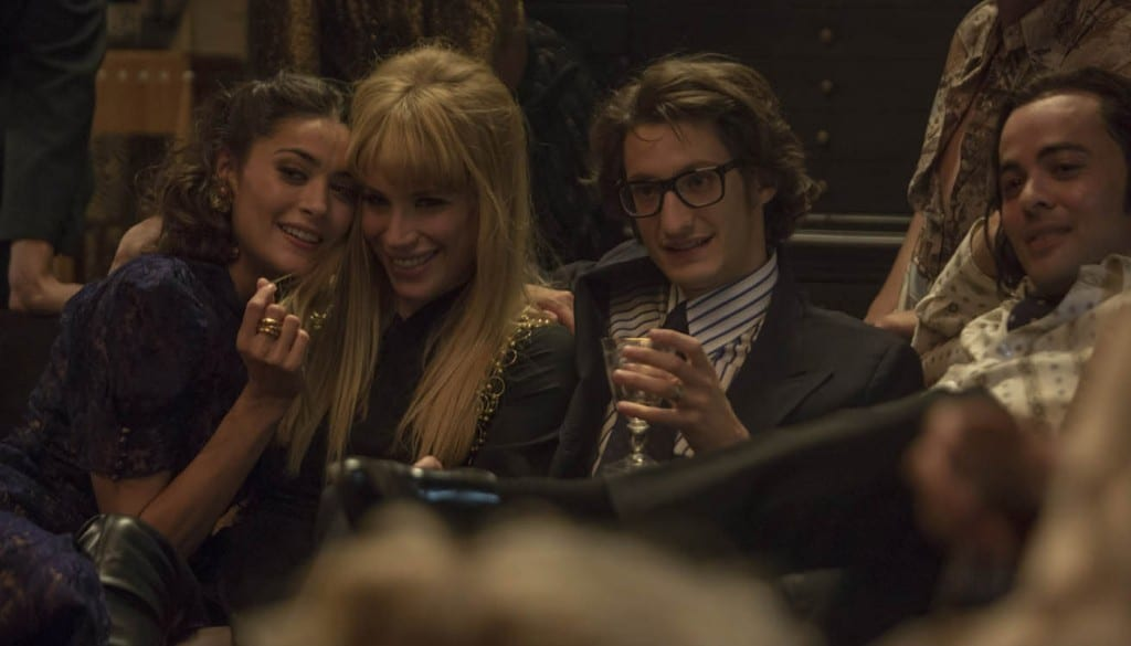 Yves saint laurent entre amis