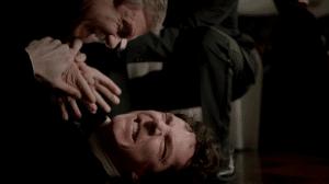 Il l'aime à terre, Mr. Watson.