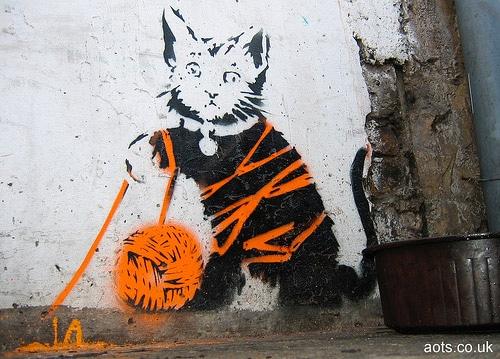 banksy_cat_wool