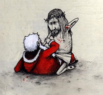 Dran - Jésus Christ vs. Père Noël