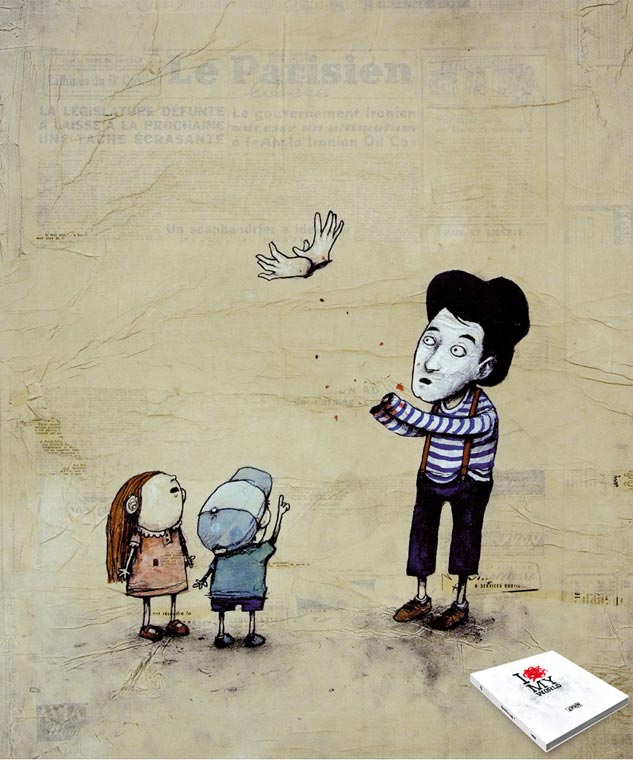 Dran - Mime colombe