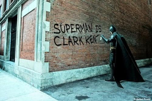 superman street art