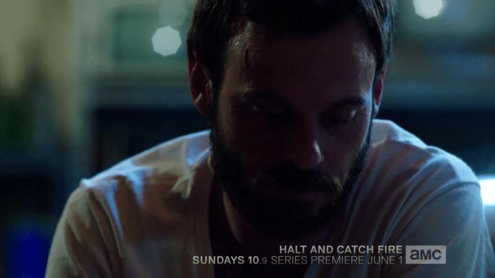 Gordon Clark joué par Scoot McNairy dans la série Halt And Catch Fire, 2014.
