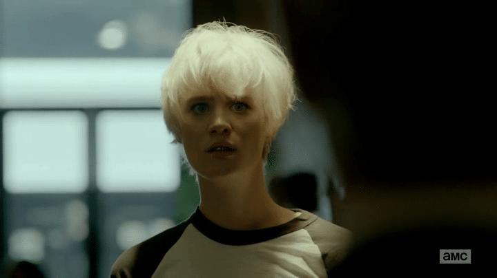 Cameron Howe, joué par Mackenzie Davis dans Halt And Catch Fire, 2014.