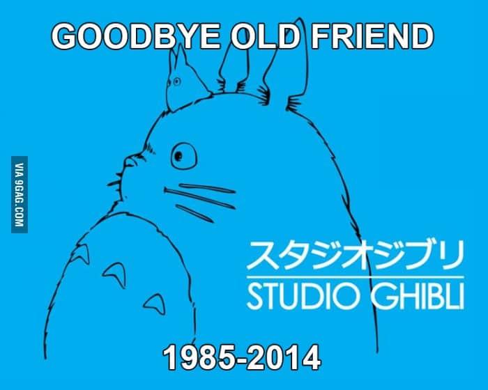 goodbye ghibli