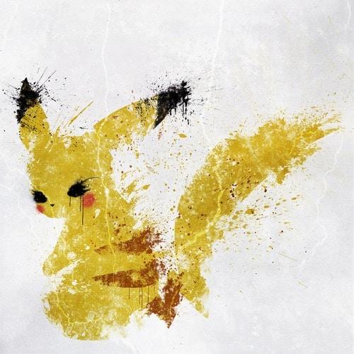 pikachu paint