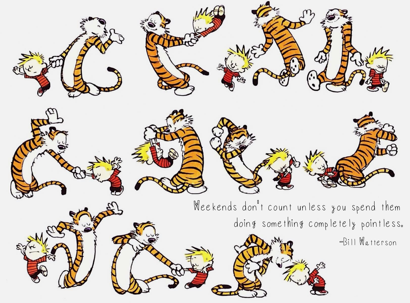 Bill-Watterson-quote-on-the-weekend