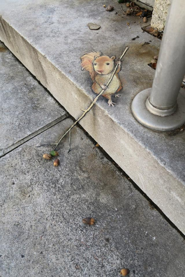 Calk-Art-by-David-Zinn-in-Michigan-USA--street-art
