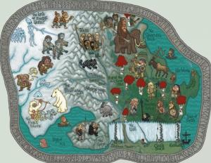 westeros map north