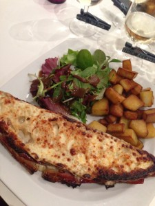 fromage gratiné