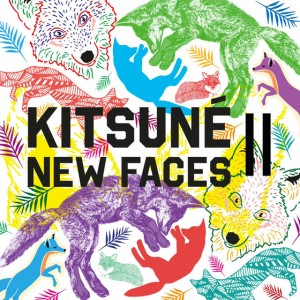 La pochette de Kitsuné New Faces II.