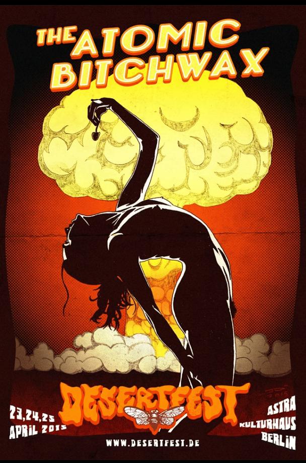 Affiche Atomic Bitchwax de Jo Riou