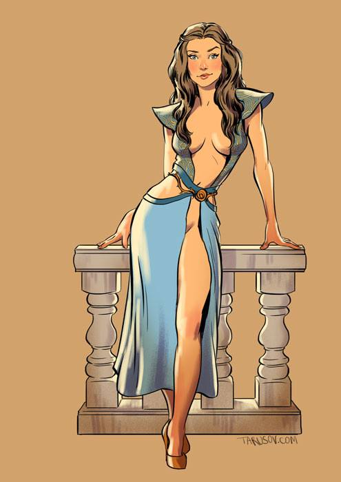 Game of Thrones-Pin-up 66