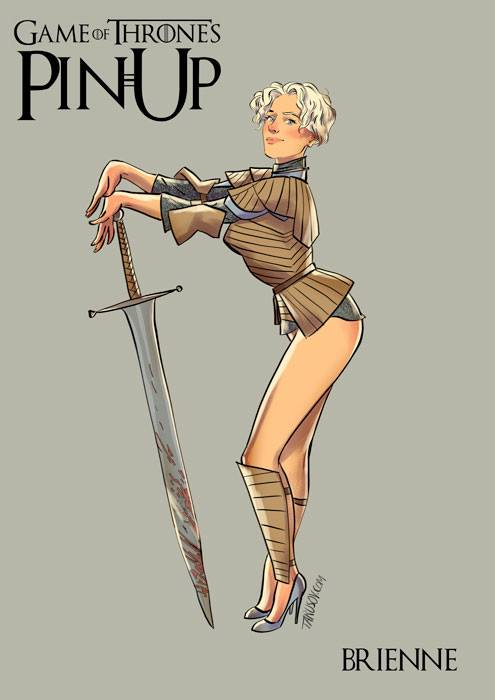 Game of Thrones-Pin-up