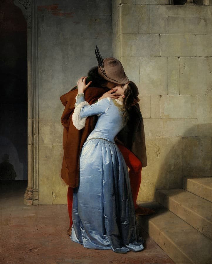 Francesco Hayez - Le Baiser - 1859