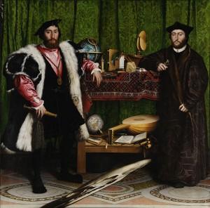 Hans Holbein le Jeune - Les Ambassadeurs - 1533