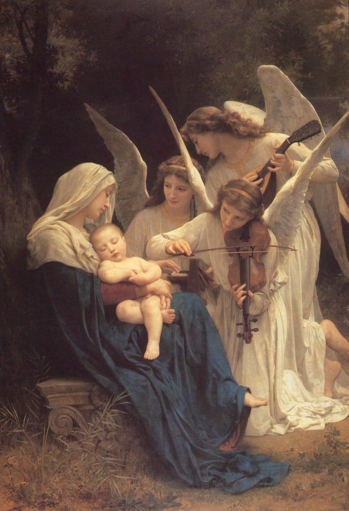 William Bouguereau - Le chant des anges - 1881