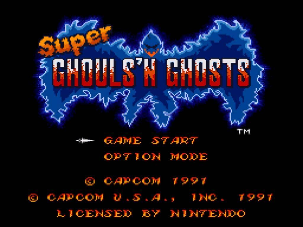 Super Ghouls'n Ghosts-Mega-Ran