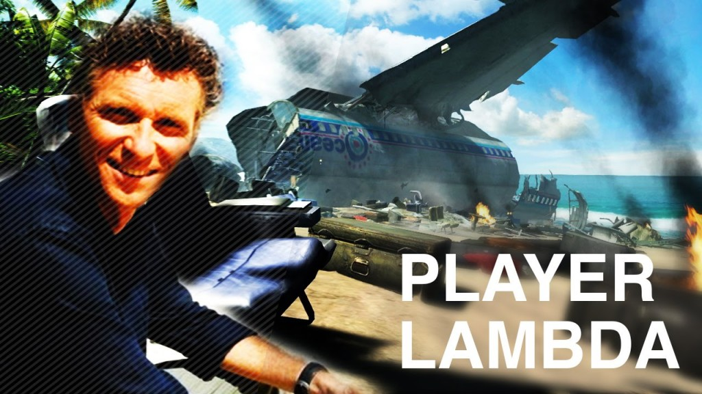 Player Lambda  - Denis Brogniart
