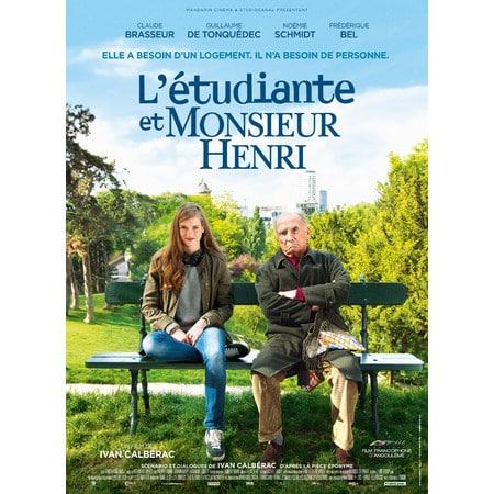 Henri poster-L-étudiante-et-Mr-Henri