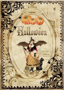 Halloween old poster