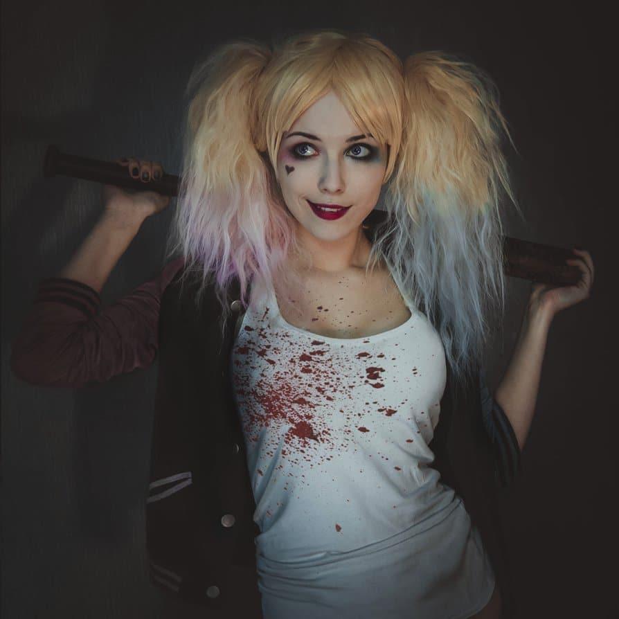 halloween-cosplay-harley-quinn-Halloween-miss