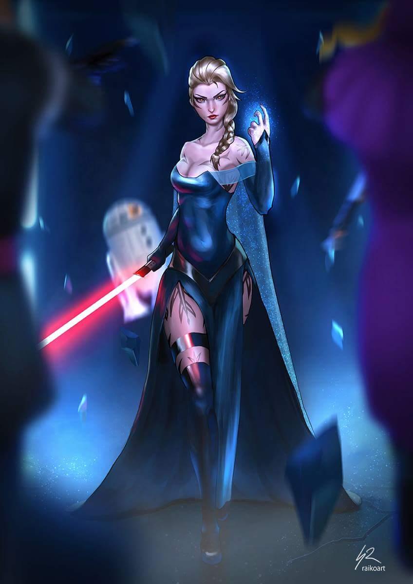 On a pas vu Star wars / Le réveil de la force mais on va ...