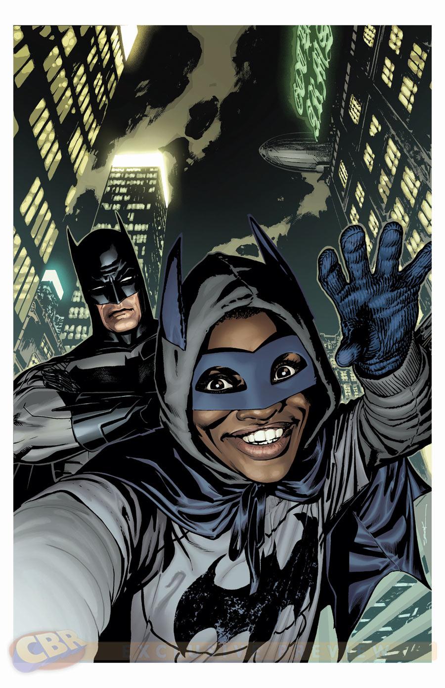 Les selfies des super héros
